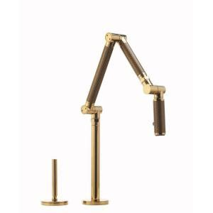 Kohler Karbon Faucet Gold by Kohler Karbon Deck Mount Single Handle Mid Arc Kitchen