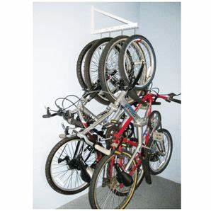 Support Rangement Velo : support de rangement mural 4 crochets pour v lo pour garage parking de bicis pinterest ~ Melissatoandfro.com Idées de Décoration