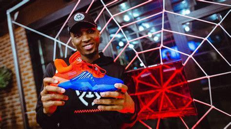 donovan mitchell unveils  adidas signature sneaker