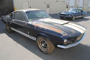 1967 Shelby GT 500 Original Shelby Mustang Project Needs Restoration