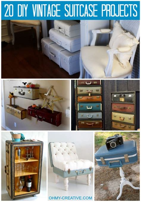 Decorating Ideas Using Suitcases by 20 Diy Vintage Suitcase Decorating Ideas Oh My Creative