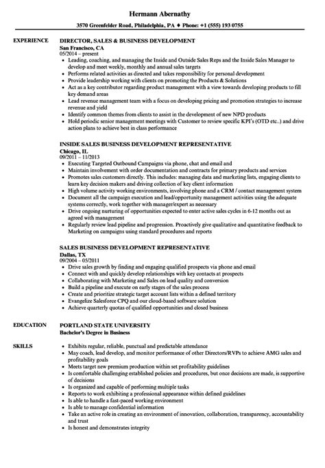 Business Development Sales Manager Resume by Sales Business Development Resume Sles Velvet