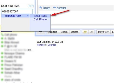 Mobile Gmail Chat by Free Sms To Any Mobilink Number From Gmail Chat