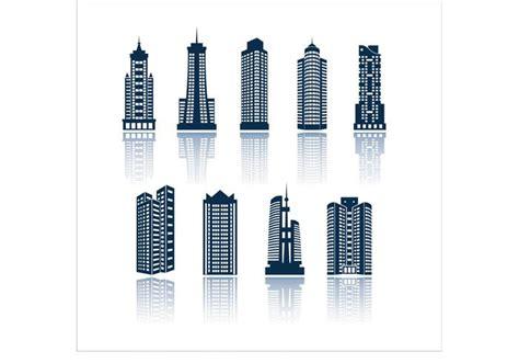 building shapes   vector art stock graphics
