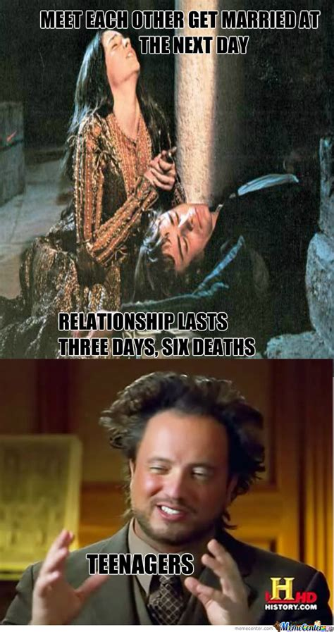 Romeo And Juliet Memes - romeo and juliet by recyclebin meme center
