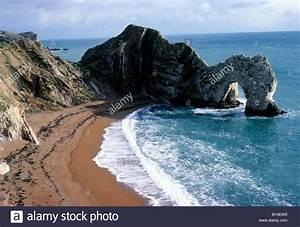 Durdle Door Dorset English Channel south coast coastal ...