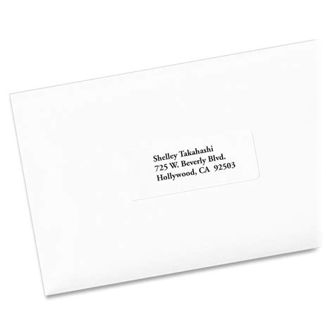 avery 5960 easy peel white laser mailing labels permanent