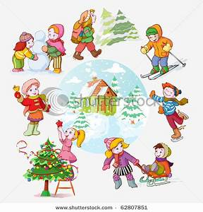 Winter Activities Clipart - Clipart Suggest