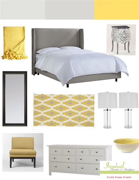grey livingroom grey yellow bedroom tjihome