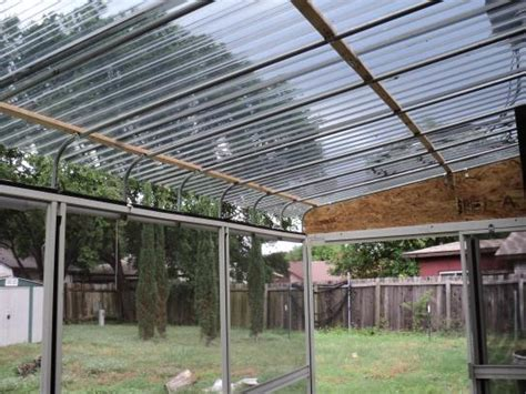 patio materials home depot suntuf 26 in x 8 ft solar gray polycarbonate corrugated
