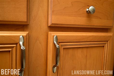 knobs or handles on kitchen cabinets easy upgrade bargain kitchen cabinet pulls lansdowne 9641