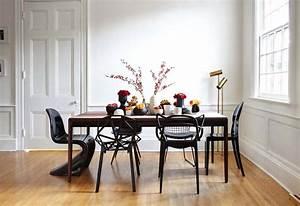 les chaises depareillees qui egayent lambiance de la With salle a manger italienne moderne