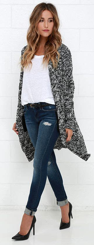 17 Best ideas about Long Sweater Outfits on Pinterest ...