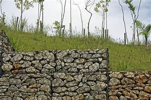 Mur En Gabion : tout savoir sur l 39 enrochement prix conseils et exemples ~ Premium-room.com Idées de Décoration