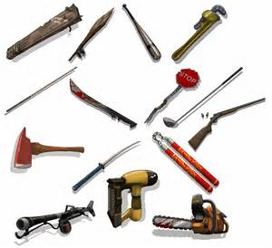 Zombie Apocalypse Survival Weapons