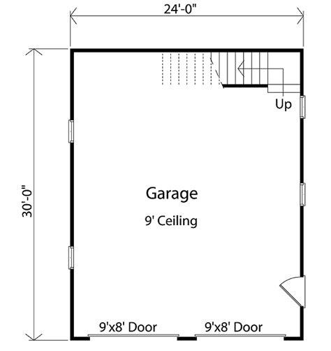detached garage floor plans detached garage with loft 2234sl architectural designs