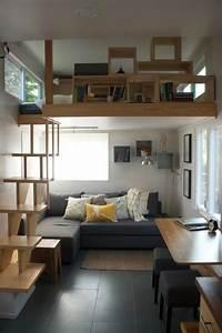 1001 solutions pour l39equipement de vos petits espaces for Amenager une chambre de 10m2