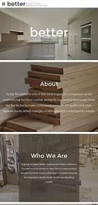 Interior Furniture Website Template 59557