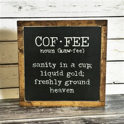 Find & download free graphic resources for coffee menu. Coffee Sign Coffee Definition Sign Rustic Sign Wooden Sign