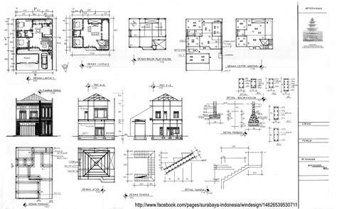 gambar desain rumah modern  lantai contoh
