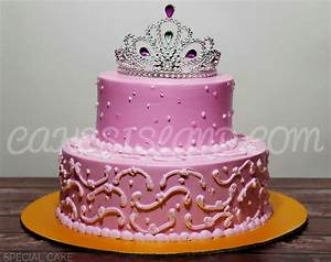 Pink Princess Cake - Cakes Island