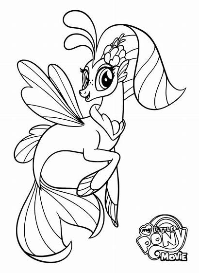 Pony Coloring Pages Cartoon