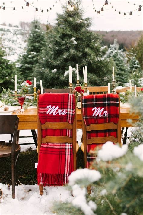 18 stunning christmas themed winter wedding ideas page 2