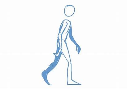 Walk Cycle Side Animation Reference Walking Deviantart