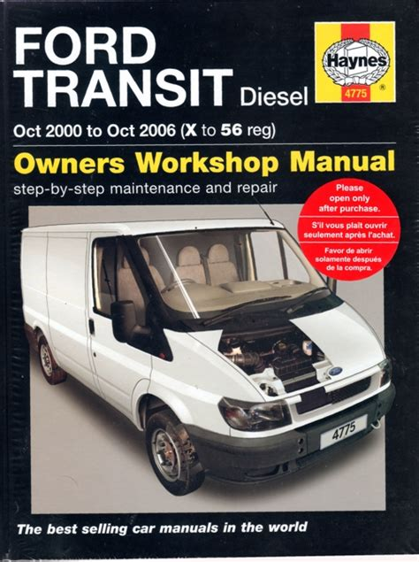 ford transit diesel   haynes service repair manual