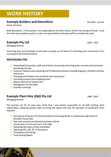 accounting resume template australia news we can help with professional resume writing resume templates selection criteria writing