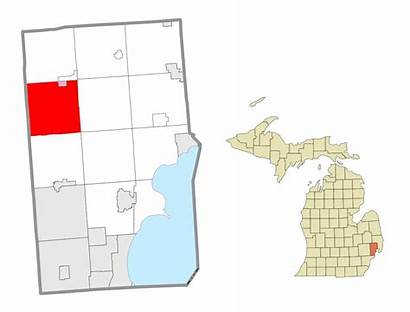 Macomb Washington Township Michigan County Mi Location