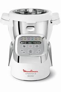 Robot Cuiseur Pas Cher : robot cuiseur moulinex companion xl blanc hf806e10 robot ~ Premium-room.com Idées de Décoration