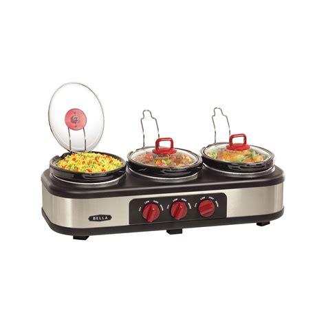 Upc 829486135576 Bella Triple Slow Cooker Upcitemdbcom