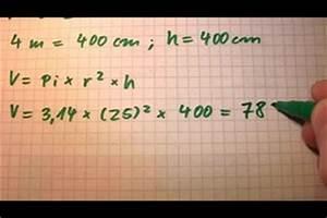 Durchmesser Berechnen Zylinder : mit einer formel den radius bei einem zylinder berechnen ~ Themetempest.com Abrechnung