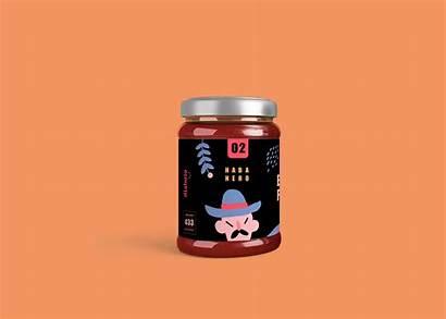 Sauce Behance Evil Flames Branding Salsa Spicy