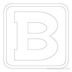 Free Printable Block Letter Stencils