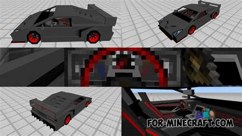 lamborghini dealership minecraft sports car lamborghini add on minecraft pe mods addons