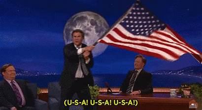 Patriotic Gifs Happy July Flag Fourth Usa