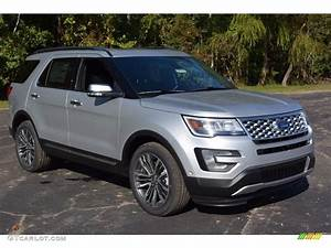 Ford Explorer 2017 : 2017 ingot silver ford explorer platinum 4wd 116464152 car color galleries ~ Medecine-chirurgie-esthetiques.com Avis de Voitures