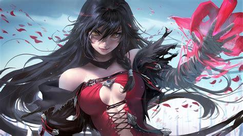 wallpaper velvet crowe hot anime girl hd anime