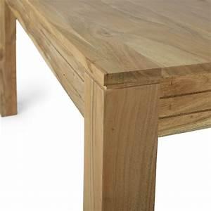 Esstisch Massivholz Günstig : esstisch massivholz akazie natur 200x100 ~ Watch28wear.com Haus und Dekorationen