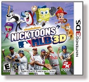 Review Nickelodeon Nicktoons MLB 3D NIntendo 3DS