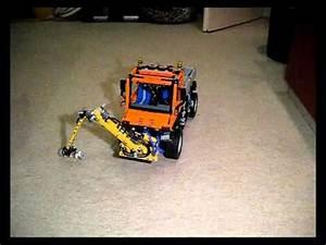 Aufbewahrungsbox Für Lego : lego technic u 400 8110 mit pneumatischem frontm hwerk youtube ~ Buech-reservation.com Haus und Dekorationen