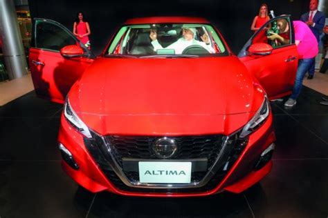 nissan altima launched  qatar
