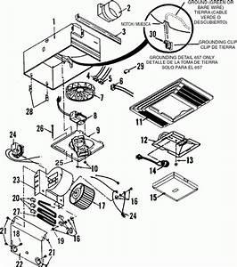 Broan Kitchen Exhaust Fan Parts