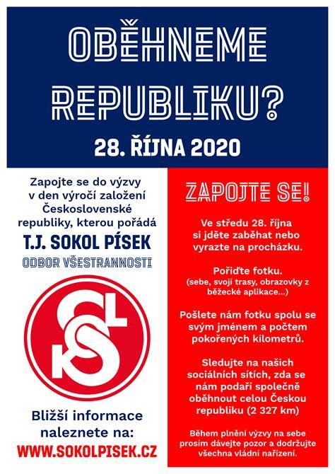 Oběhneme republiku? | Sokol Písek - odbor všestrannosti