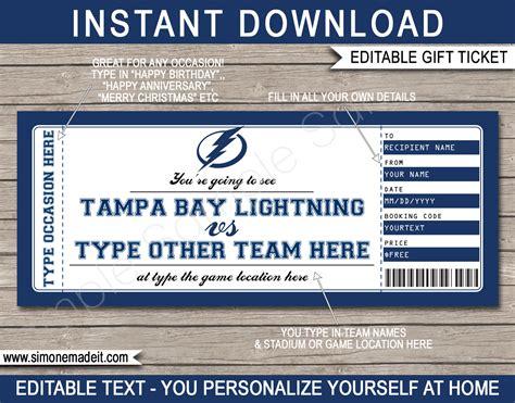 foto de Tampa Bay Lightning Game Tickets Decoratingspecial com