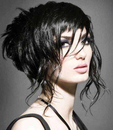 semi short haircuts  women