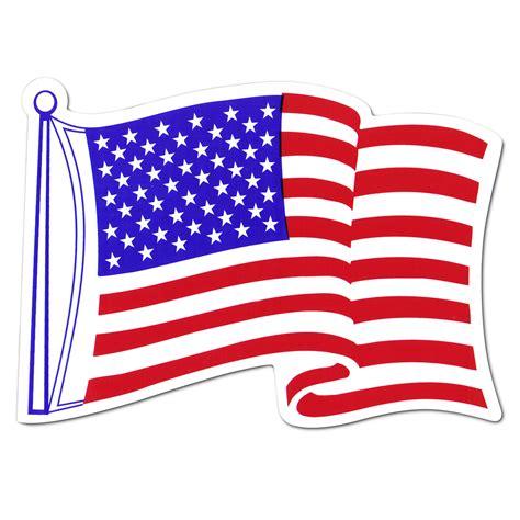 bunting flag car american car flag magnet