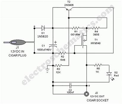 Circuit 12v Adapter Diagram Safe Volts Battery